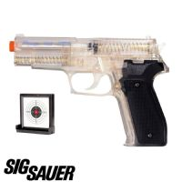 Sig P226 Airsoft BB Gun and Gel Target, Official Version